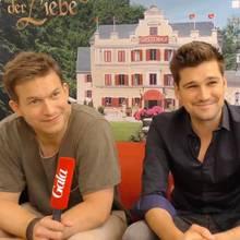 Florian Frowein (l.) und Max Beier im Gala-Interview
