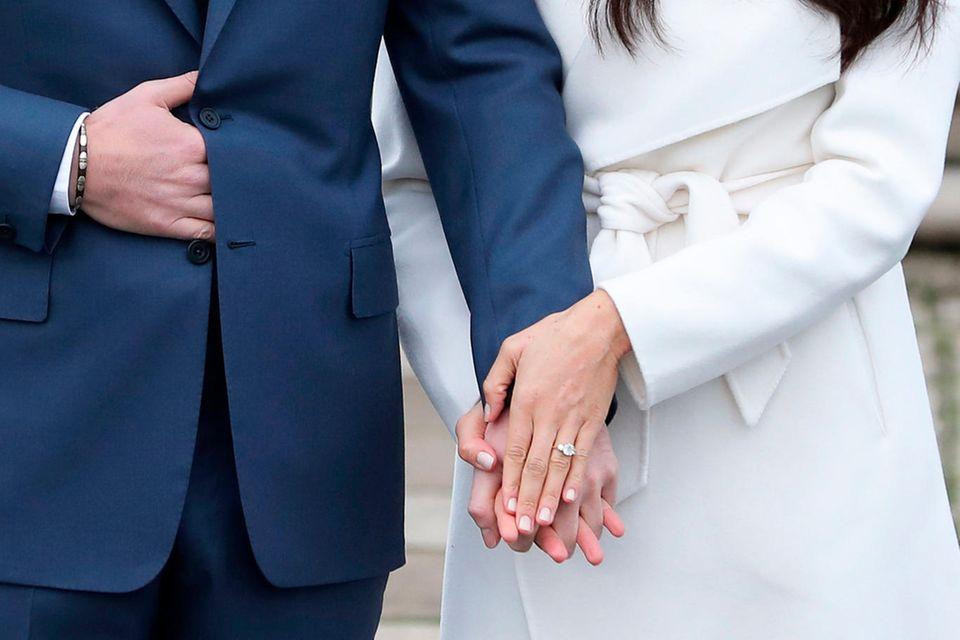 Beneidenswertes Schmuckstück: Der Verlobungsring von Herzogin Meghan