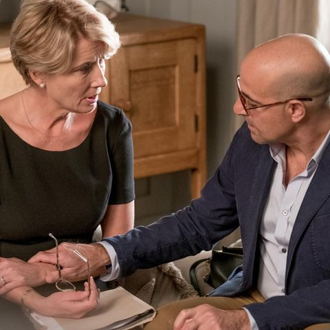 "Emma Thompson + Stanley Tucci in ""Kindeswohl"""
