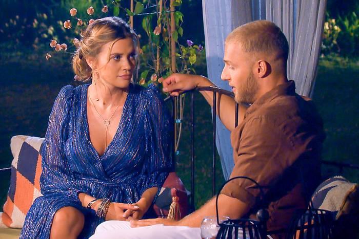 Nadine und Filip im Gespräch