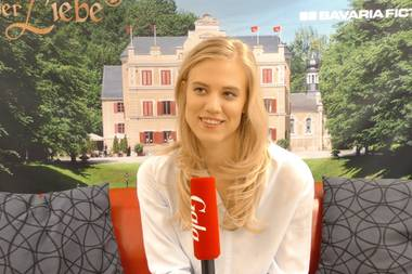 Larissa Marolt im Interview mit Gala