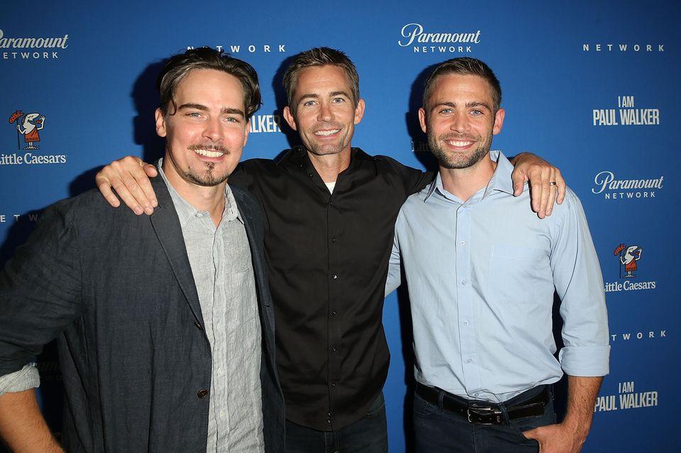 Adrian Buitenhuis, Caleb Walker & Cody Walker (v.l.)