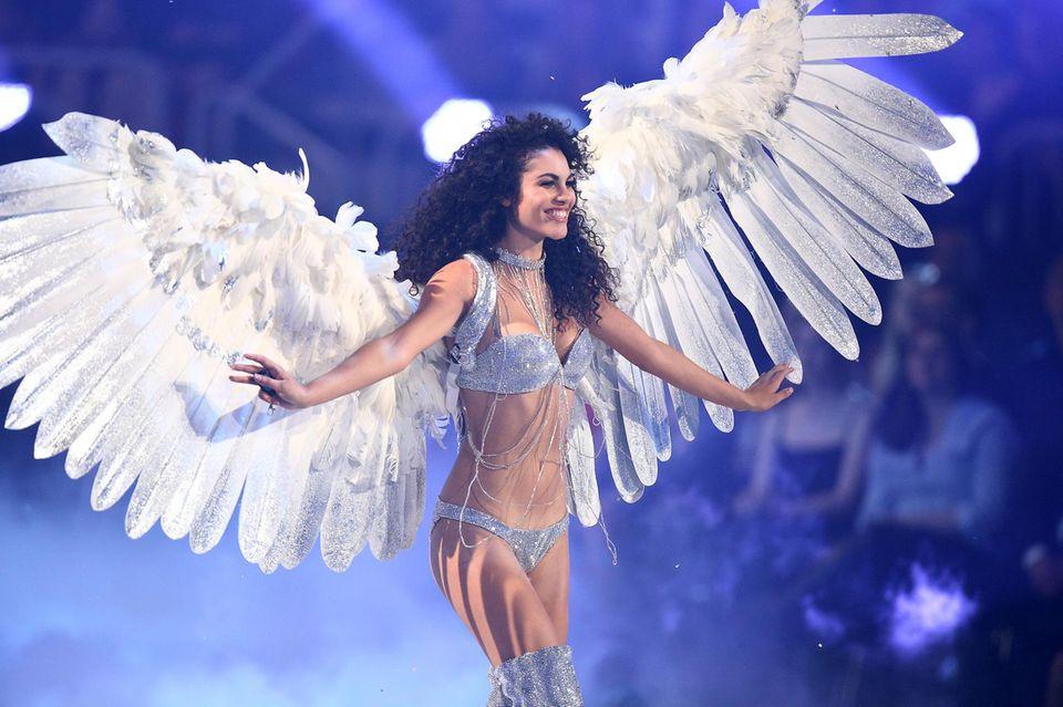 """Julianna Townsend beim Finale von """"Germany's next Topmodel"""""""