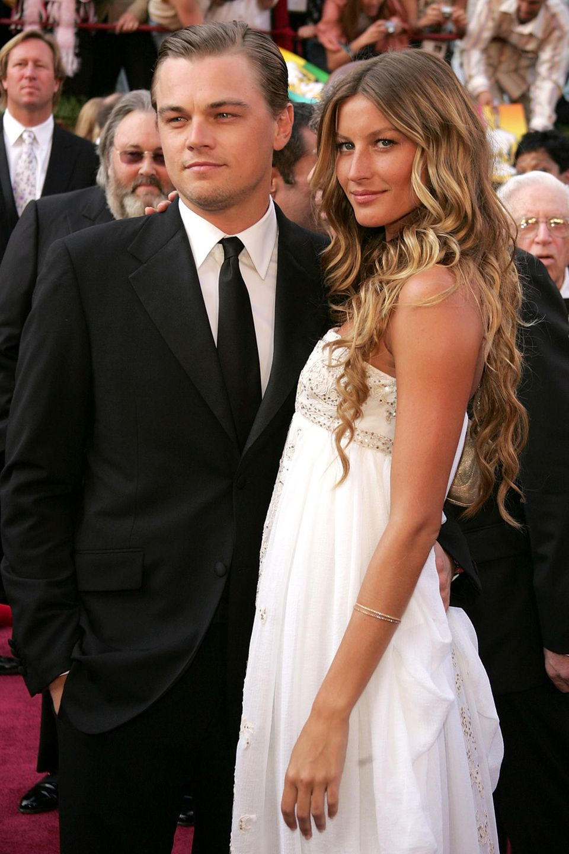 Mit Gisele Bündchen war Leonardo DiCaprio ganze fünf Jahre (von 2000 bis 2005) offiziell liiert.