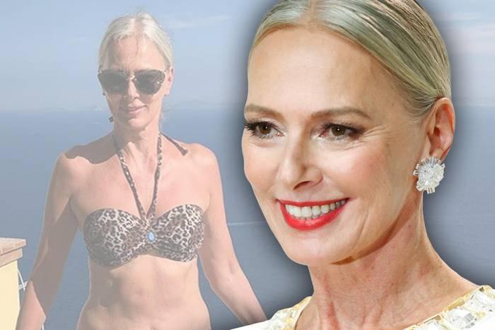 Die Wow-Bodys der Ü40-Stars: Kaum zu glauben, dass Best-Ager-Model Petra van Bremen schon Ende 50 ist