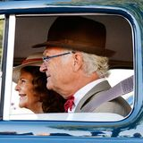 18. August 2018  König Carl Gustaf von Schweden und Königin Silvia lassen es sich auch in diesem Jahr nicht nehmen an der traditionellen Königsrallye auf Schloss Solliden auf Öland teilzunehmen ...