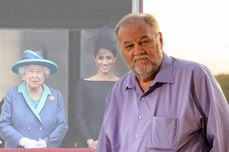 Thomas Markle, Herzogin Meghan und Queen Elizabeth.
