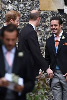 Prinz Harry, Prinz William + Spencer Matthews