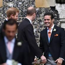 Prinz Harry, Prinz William + Spencer Matthews
