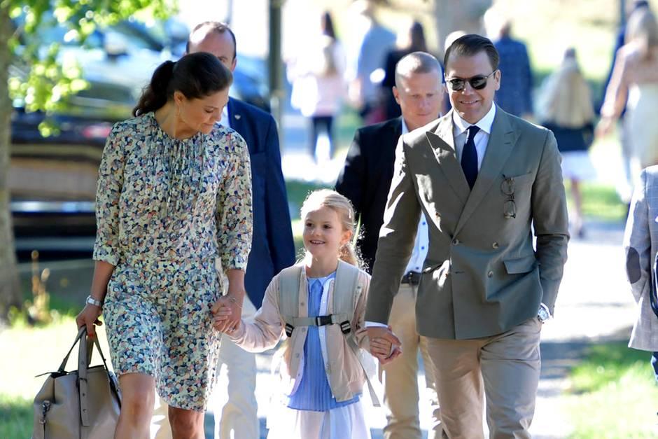 Prinzessin Victoria, Prinzessin Estelle und Prinz Daniel