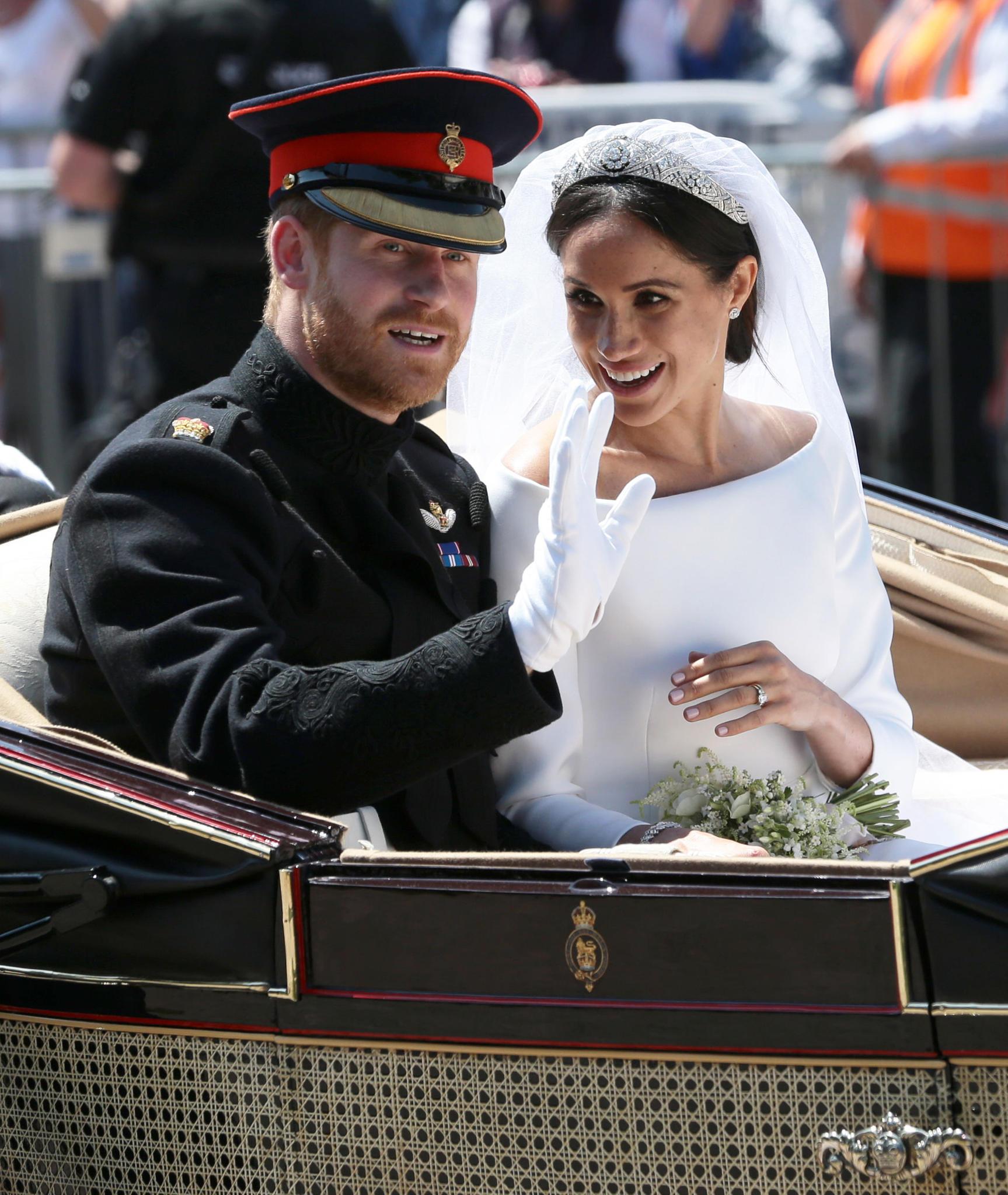 Prinz Harry und Herzogin Meghan am Tag ihrer Hochzeit