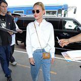 ... und Kate Bosworth die Micro-Bag von Rochas.