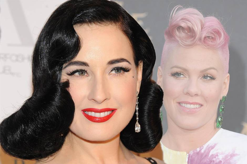 Rockabilly-Frisuren: Locken, die rocken - 20 tolle ...