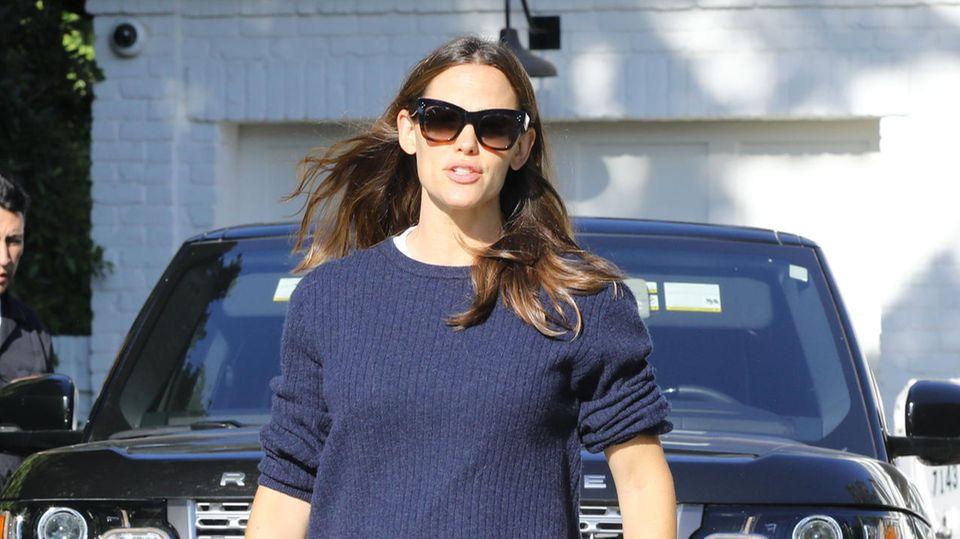 Jennifer Garner am 22. August in Los Angeles. Dem Tag, an dem sie ihren Mann Ben Affleck erneut in die Entzugsklinik fährt