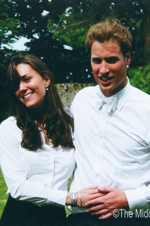 Herzogin Catherine und Prinz William im Jahr 2005