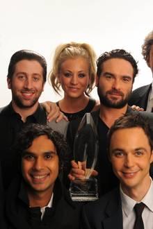 """The Big Bang Theory"" Cast"