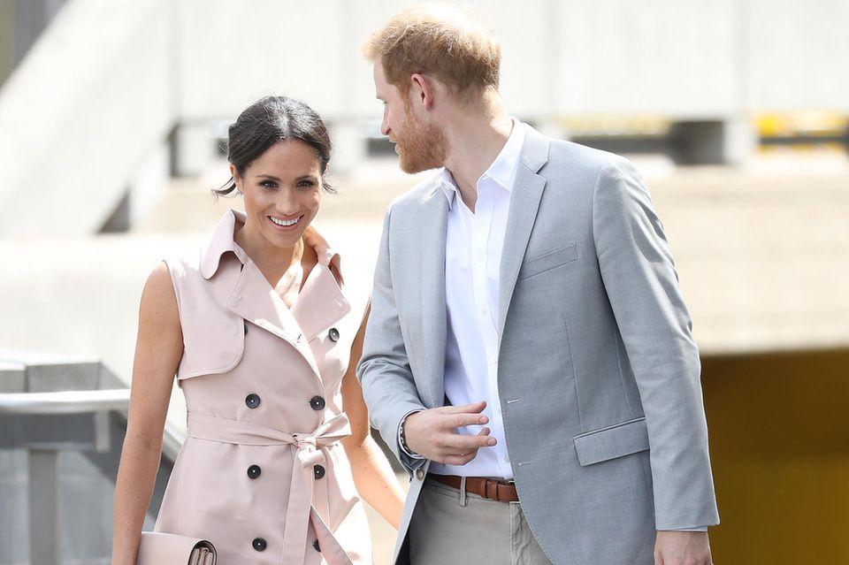 Herzogin Meghan mit Prinz Harry