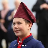 23. August 2018  Prinz Christian im traditionellen Trachten-Look.