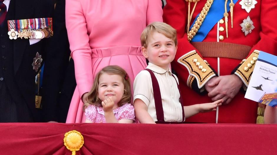 Prinzessin Charlotte und Prinz George lieben Tante Meghan