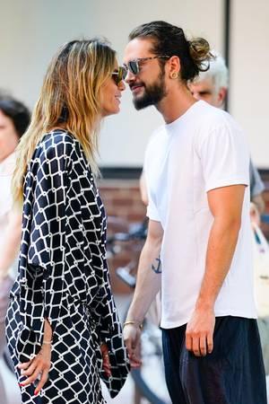 Heidi Klum und Tom Kaulitz verliebt und tätowiert in New York