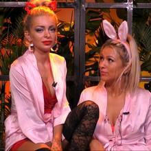 """Katja und Cherhrin haben bei """"Promi Big Brother"""" einiges zu besprechen..."""
