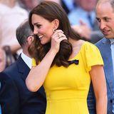 Von Kopf bis Fuß perfekt gestylt: So kennen wir Herzogin Catherine. Doch auch die schöne Frau von Prinz William hat einen kleinen Schönheitsmakel ...