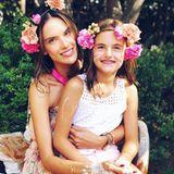 26. August 2018  Schönheit liegt in der Familie: Alessandra Ambrosio und Tochter Anja Louise.