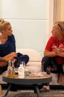 Katja Krasavice und Silvia Wollny im Gespräch