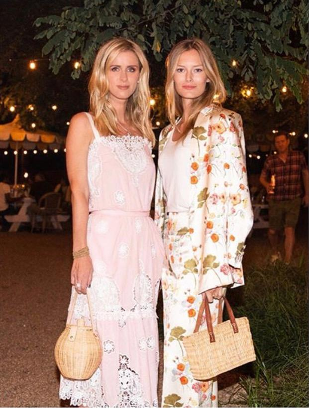 Nicky Hilton und Charlott Cordes als Fashion-Twins.