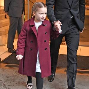 Harper Beckham + David Beckham