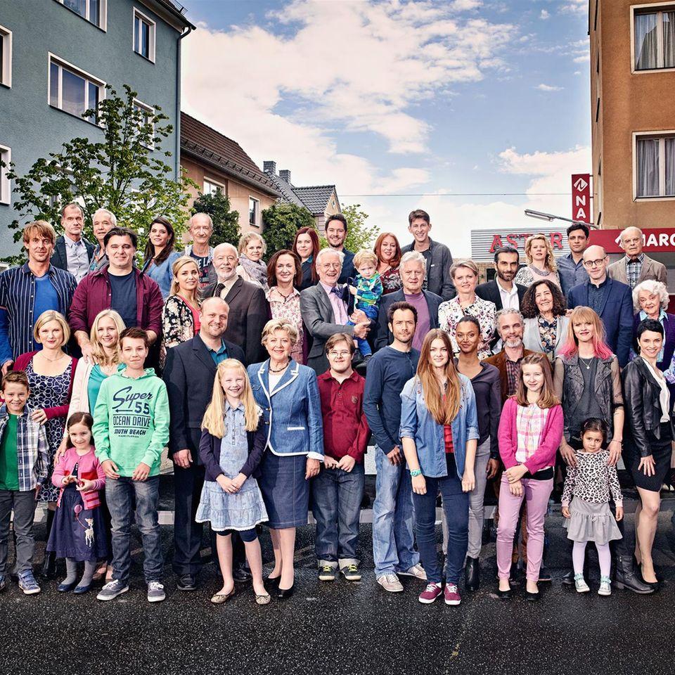 Lindenstraße Besetzung 2021