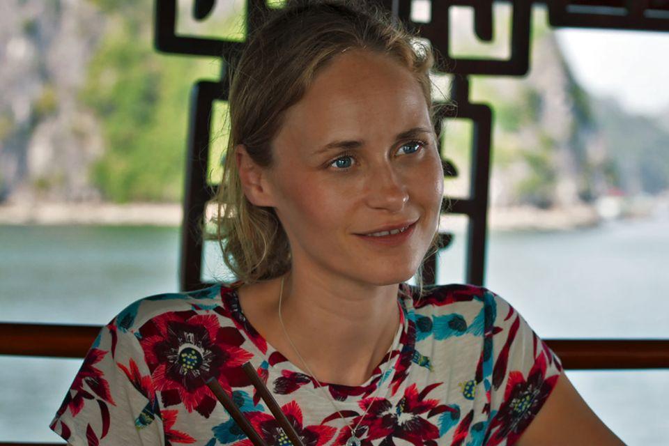Schauspielerin Inez Bjørg David.