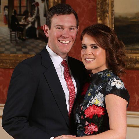 Das offizielle Verlobungsbild von Prinzessin Eugenie und ihrem langjährigen Freund Jack Brooksbank