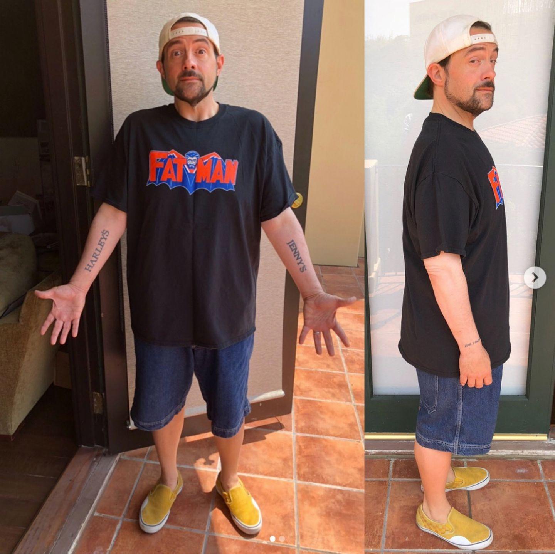 """2018 ist er Botschafter von """"Weight Watchers"""" und präsentiert stolz das Ergebnis seiner Umstellung: Über 23 Kilo hat er abgenommen. Dank seiner veganen Ernährung und einem starken Willen ist er """"so leicht wie zuletzt in der High School"""". Respekt!"""