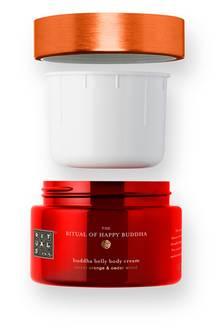 "Nachfüllpack: ""The Ritual Of Happy Buddha Body Cream""von Rituals, 220 ml, ca. 16 Euro"