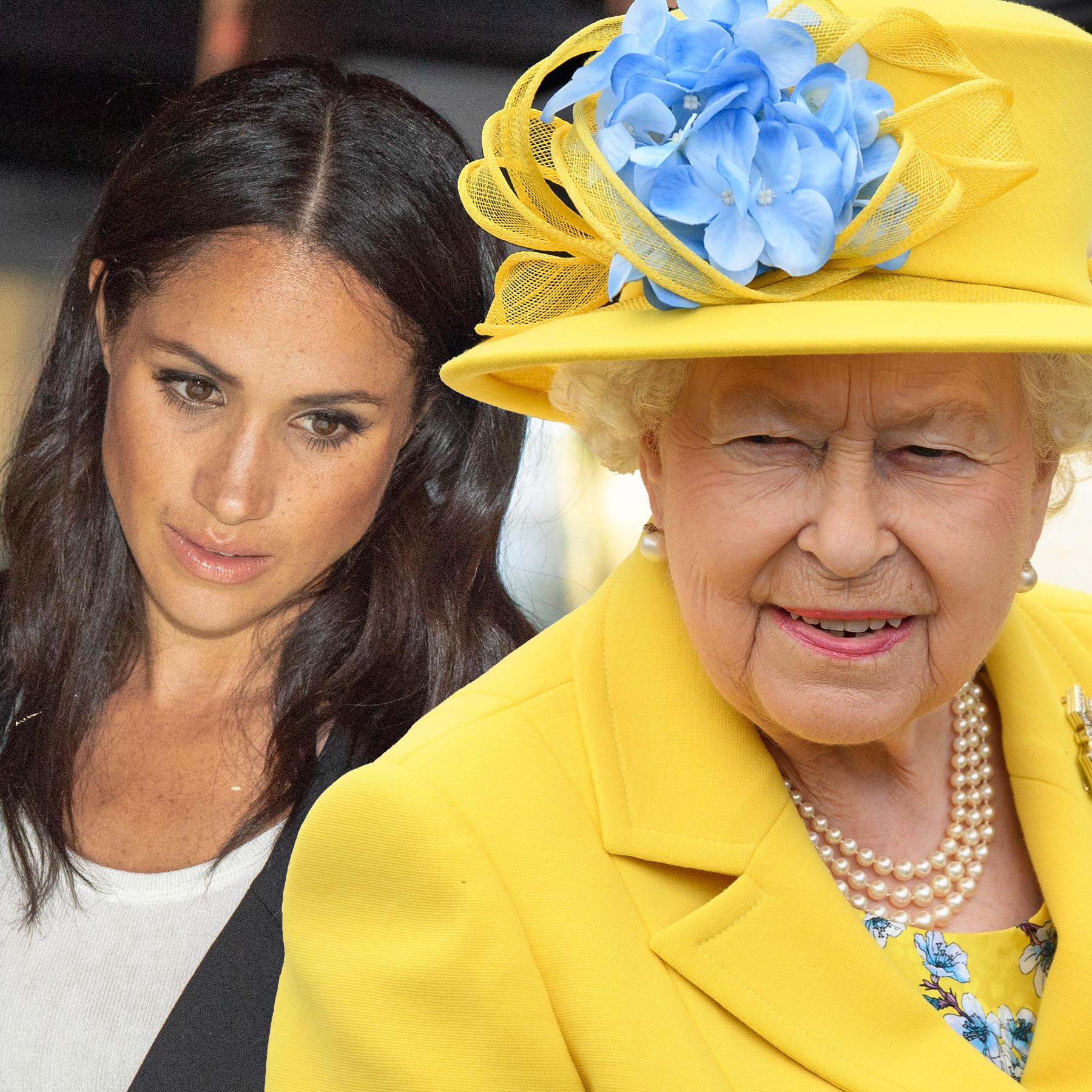 Herzogin Meghan, Queen Elizabeth
