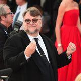 Regisseur und JurymitgliedGuillermo del Toro ist bestens gelaunt.