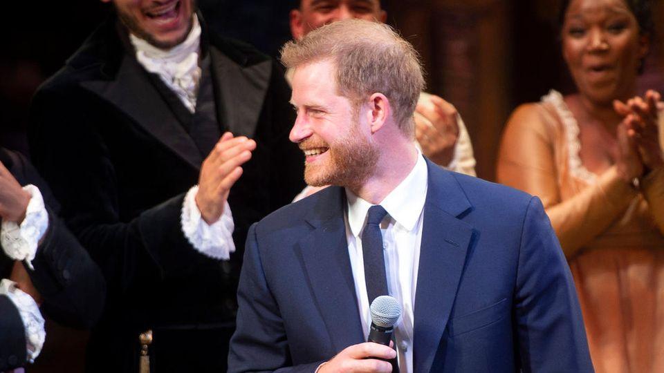 Prinz Harry bei Hamilton