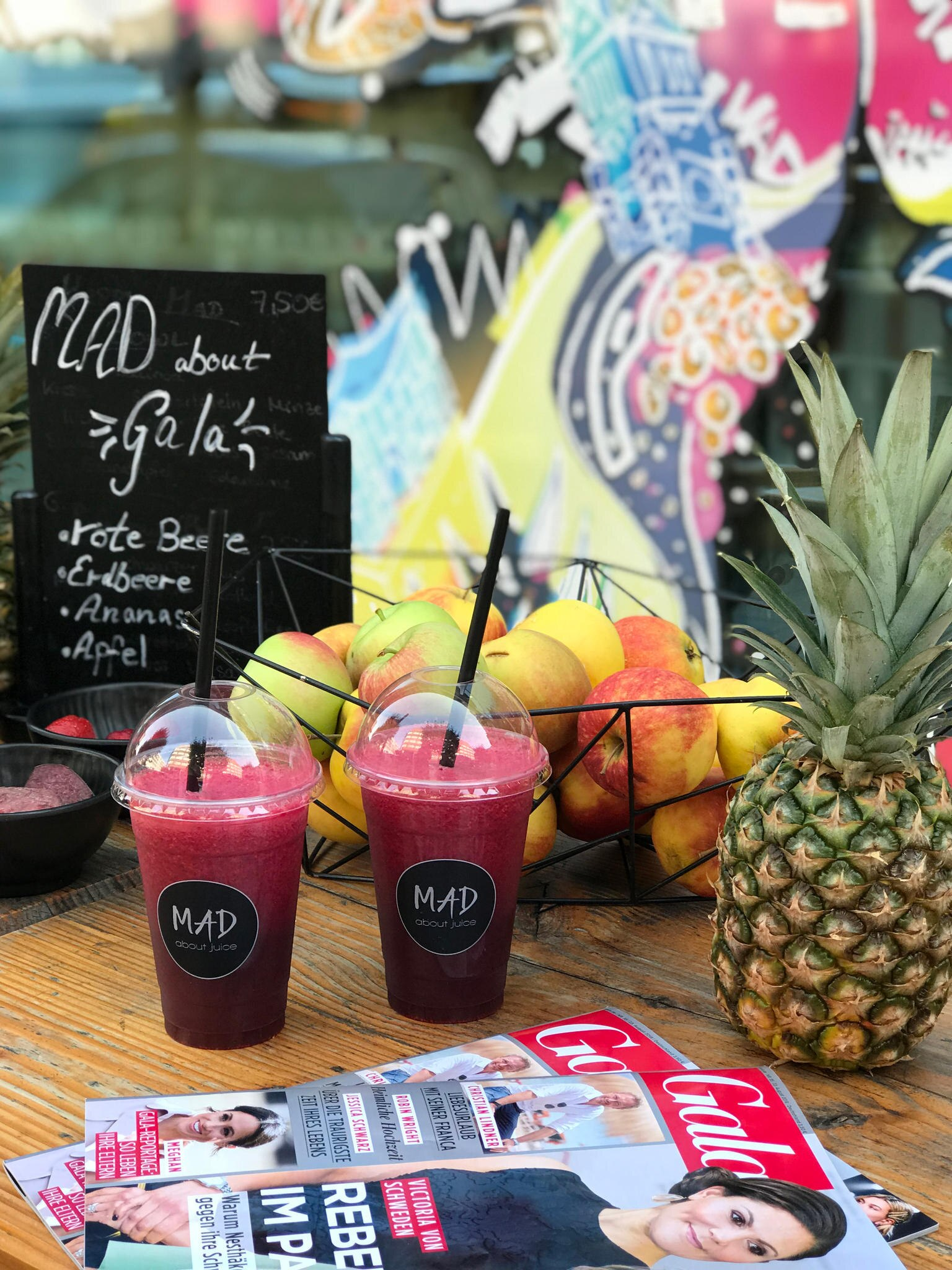 "MAD about GALA: Der exklusive GALA-Drink jetzt bei ""MAD about Juice"""