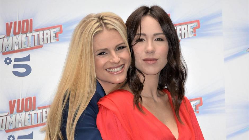 Michelle Hunziker und Aurora Ramazotti