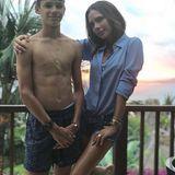 1. September 2018  Auch Mama Victoria Beckham gratuliert ihrem zweitältesten Sohn Romeo über Instagram mit diesem Foto.