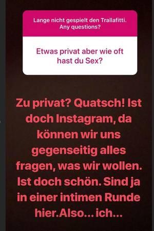Sophia Thomalla Instagram Story