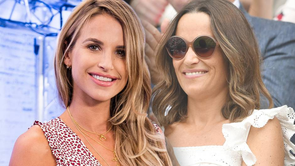 Vogue Williams + Pippa Middleton