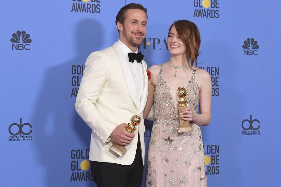Verstehen sich privat und beruflich bestens: Ryan Gosling und Emma Stone