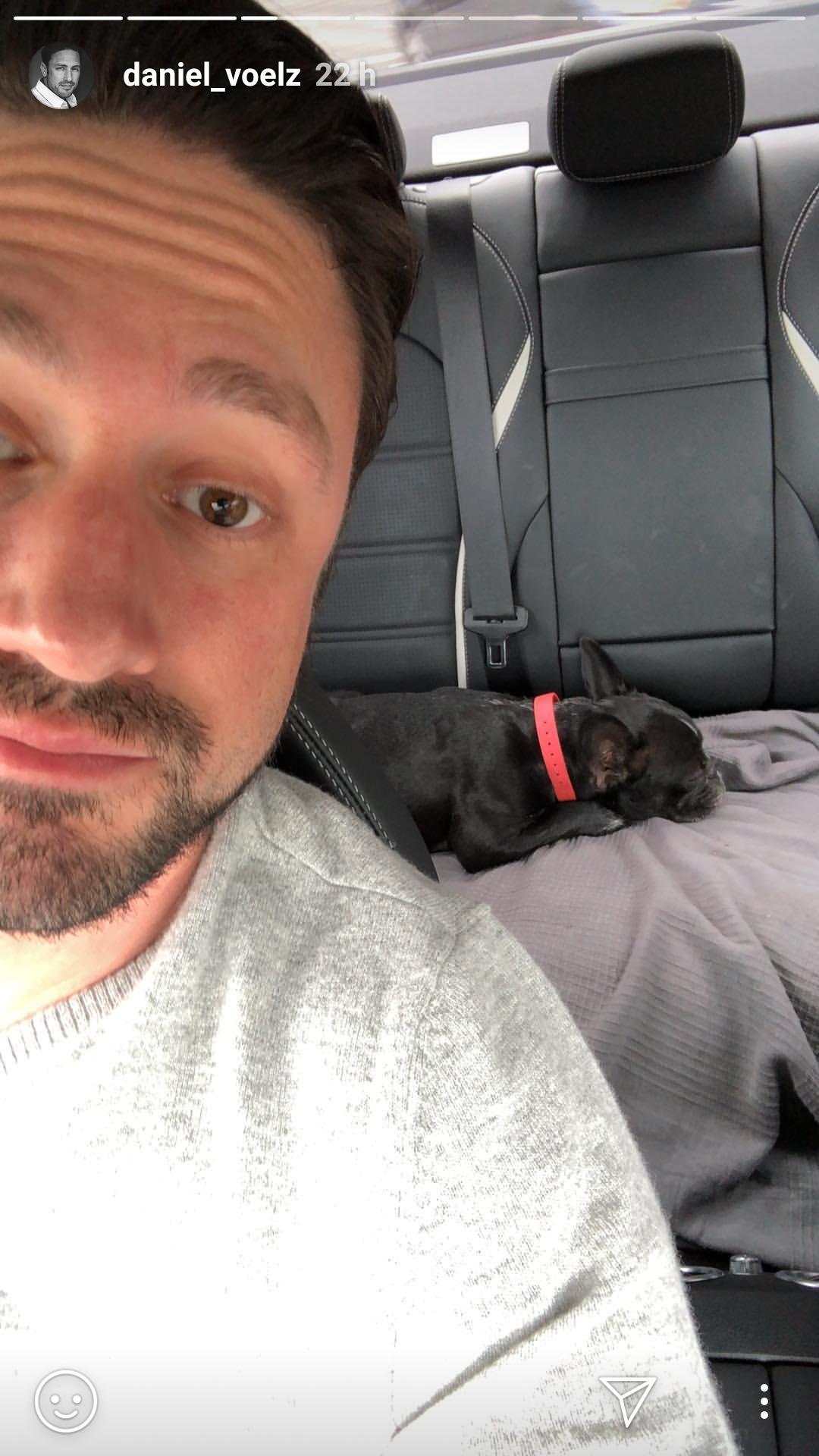 Daniel Völz und sein Hund Bella