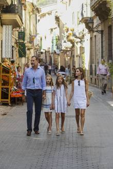 Die spanische Königsfamilie