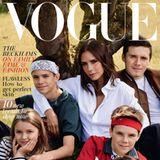 4. September 2018  Für die Oktober-Ausgabe der britischen Vogue wird Familie Beckham von dem schwedischen FotografMikael Jansson stilvoll in Szene gesetzt. Das Cover zeigt Victoria Beckham mit ihren vier Kids Romeo, Brooklyn, Harper und Cruz.