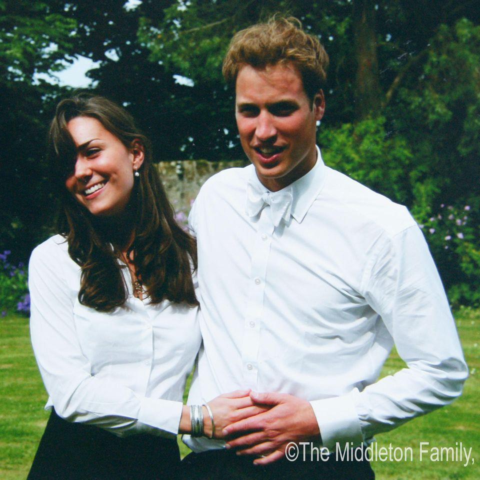 Herzogin Catherine und Prinz William im Juni 2005