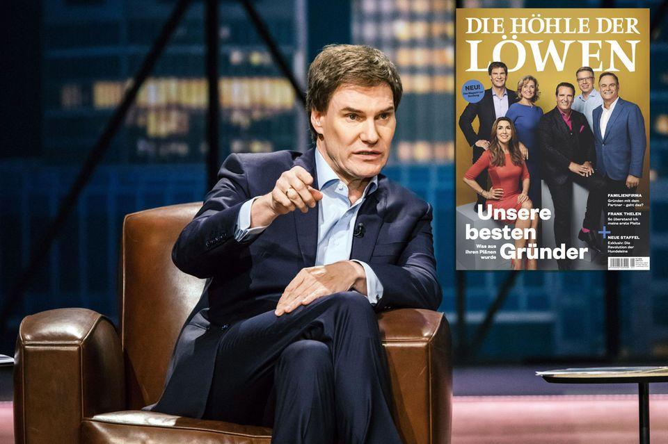 """Über das Gründermagazin zur Show """"Die Höhle der Löwen"""" freut sich Investor Carsten Maschmeyer bestimmt auch."""