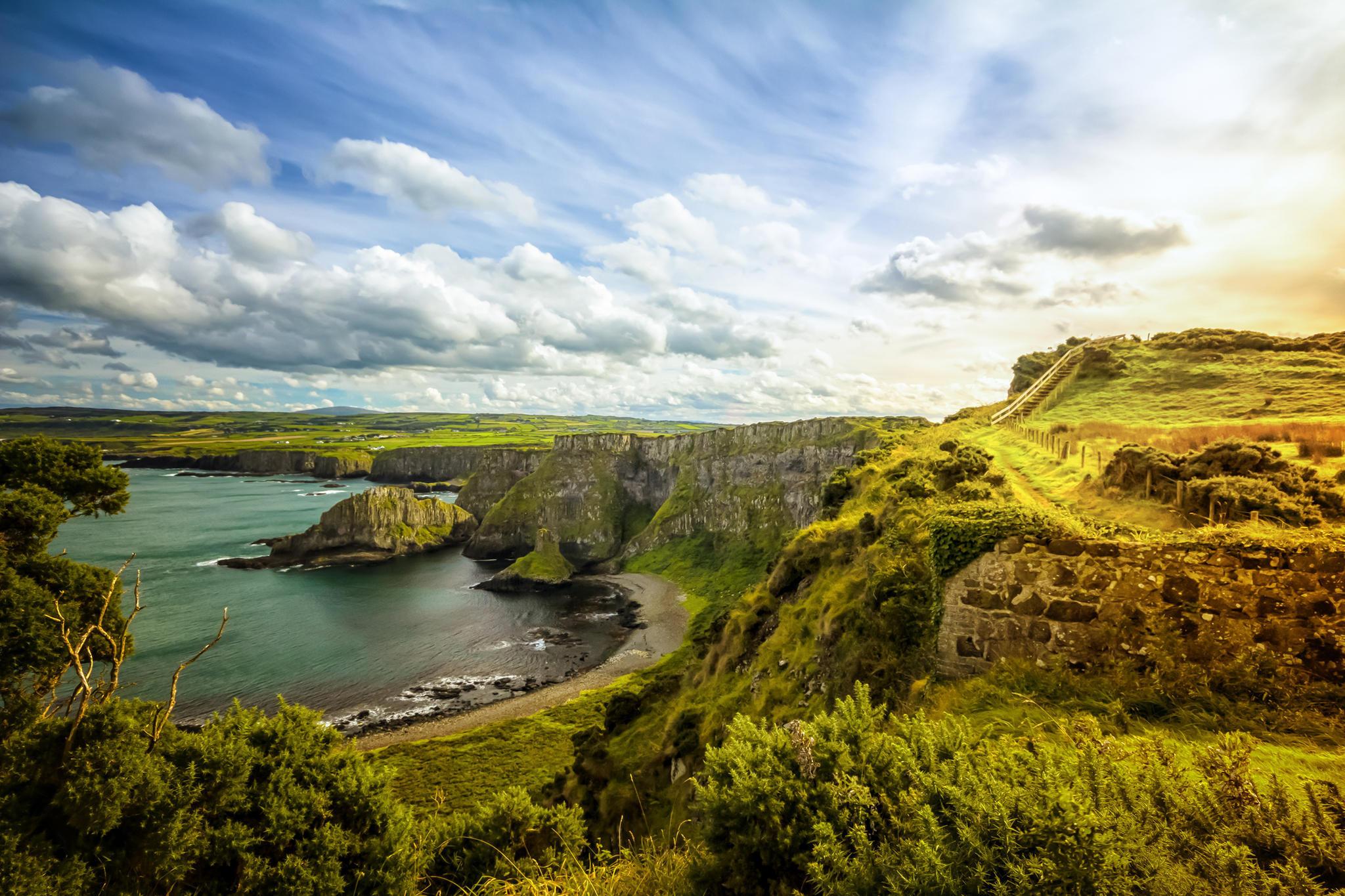 Irlands wunderschöne Landschaft lädt zum Träumen ein